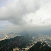 Бразилия. Тучи над Рио. :: Елена Савчук