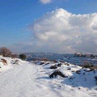 Первый снег.Иордания. :: Жанна Викторовна