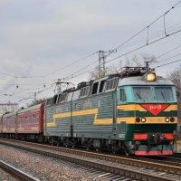 Электровоз ЧС7-152 :: Денис Змеев