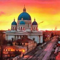 Троицкий собор.Санкт-Петербург :: Владимир Беляев ( GusLjar )