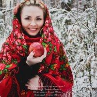 а не угостить ли Вас яблочком?! :: Yana Odintsova