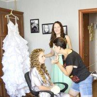 Изготовление невесты. :: Олег Барзолевский
