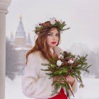 """Фотосессия """"Лесная невеста"""" :: Татьяна Сафронова"""