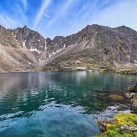 Озеро под перевалом :: Виктор Никитин