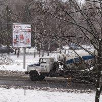 Последний январский снегопад :: Юрий Муханов