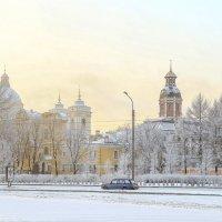 Морозное утро. :: Дмитрий Климов