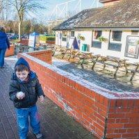 Настоящий снежок в Англии :: MVMarina