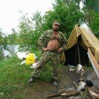 Палатка на Содышке :: Олег Романенко