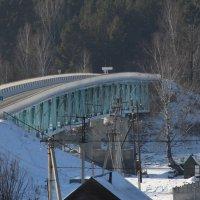 мост через реку Катунь село Усть-Семе.Горный Алтай :: Александр