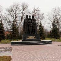 Памятник родителям Сергия Радонежского :: Анна Елишева