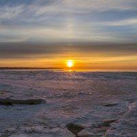 Закат среди льдов :: Valeriy Piterskiy