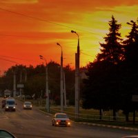 вечереет над городом :: Александр Прокудин