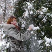 Snow rain :: Alexander Varykhanov