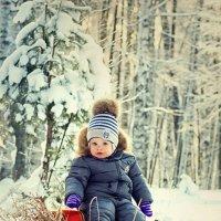 От улыбки зимний день светлее.. :: Ирина Цветкова