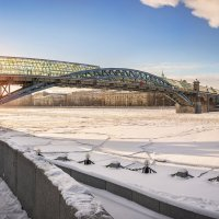 Андреевский мост :: Юлия Батурина