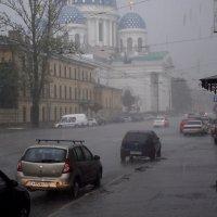 Питер. Дождь :: Фролов Владимир Александрович