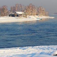Ангарский пейзаж :: Анатолий Иргл