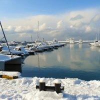 Сочи,снег,порт :: СветЛана D