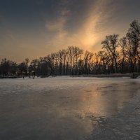 замершее  озеро :: Марат Макс