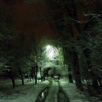 ночь,улица ,фонарь 2 :: МИХАИЛ КАТАРЖИН
