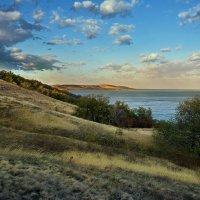 На склоне с облаками :: Yulia Demina