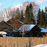 Февральский день - и солнечный, и ясный, предтеча наступающей весны ... :: Евгений Юрков