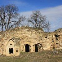 Крым. Развалины армянской церкви 14 века. :: Lana