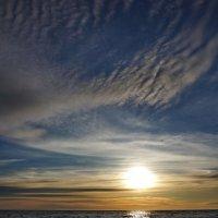 Когда на море закат... :: Виолетта