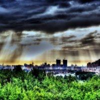 Москва из Красногорска. :: Роман Шостак