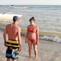 И чтобы в Турцию больше не заплывала! :: Владимир Болдырев