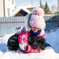 С собакой :: Света Кондрашова
