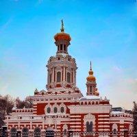 Один из  храмов Питера :: Виктор Заморков