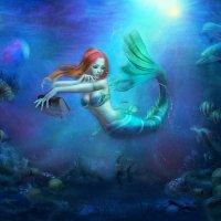 Подводный мир :: Лия Таракина