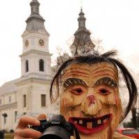 автопортрет,  масленица :: Kostas Slivskis