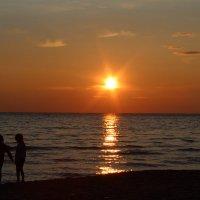 Саулкрасты, Рижский залив. :: Ирина Волкова