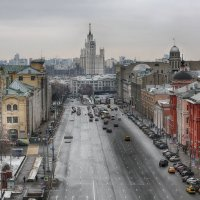 Москва январская... :: Анна Корсакова