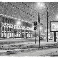 Ночной снегопад... :: марк