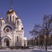 Храм во имя Великомученика Георгия Победоносца. :: Сергей Исаенко