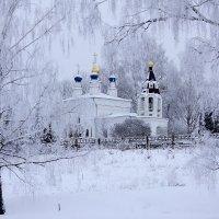 Сельский храм :: Тимофей Черепанов