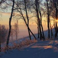 Закаты над Сюгенью. :: Наталья Юрова