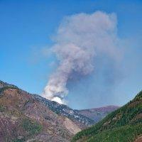 Пожар в горах :: Егор Балясов