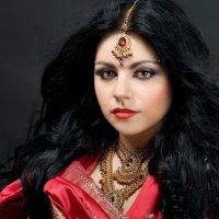 портрет индианки :: Илона Панарина