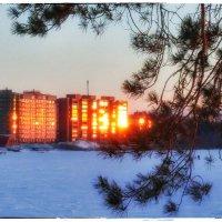 На закате. :: Сергей Адигамов