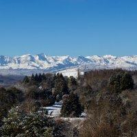 IMG_0755 9 02  вид на горы из города :: Олег Петрушин