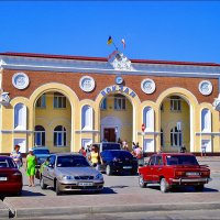 Евпаторийский вокзал в 2009 году :: Нина Корешкова