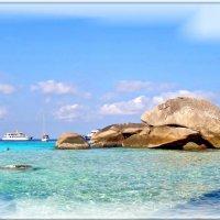 Перламутровое море у Симиланских островов. :: Чария Зоя