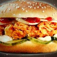 фотография с баннера перед открытием KFC :: Михаил Шор