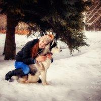 фотопрогулка с Хаски :: Алена Желонкина