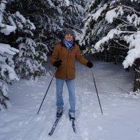 на лыжах :: Alexandr Staroverov