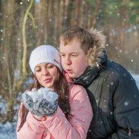 снежинки желаний... :: Настасья Целуйко